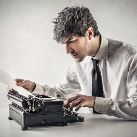 a typewriter image